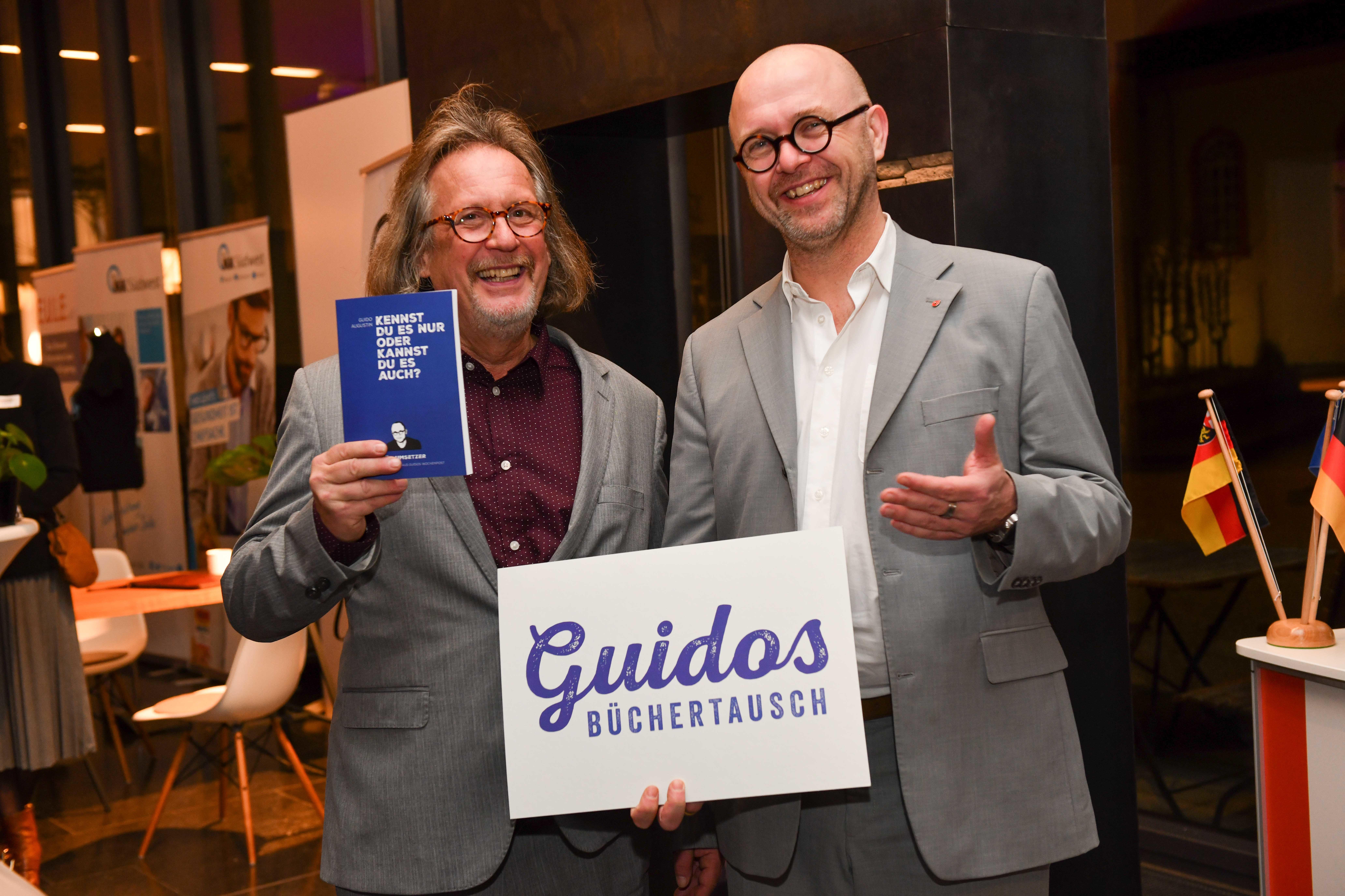Harald Martenstein und Guido Augustin